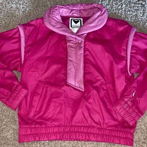 Vintage Obermeyer purple pullover jacket ski snow